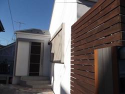 横浜市港北区 木造2階建て住宅 外観